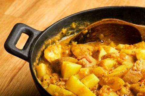 Готовое блюдо — Картофельное карри