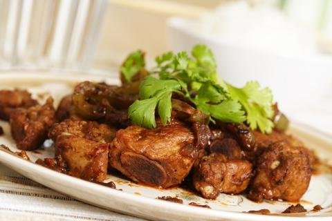 Готовое блюдо — Запеченные ребрышки