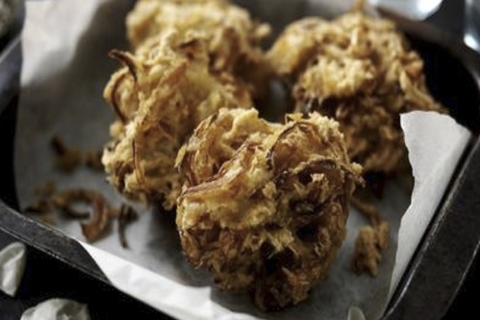 Готовое блюдо — Бхаджи из лука