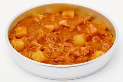 Готовое блюдо — Допьяза-карри с курицей