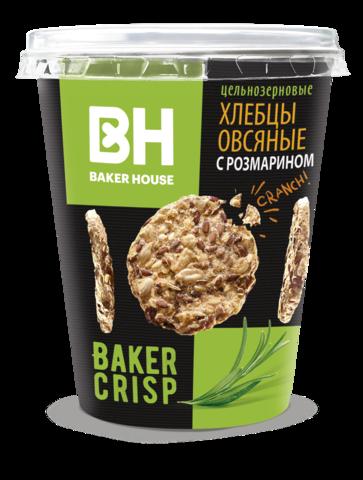 Новинка от BAKER HOUSE- цельнозерновые хлебцы в стаканчике