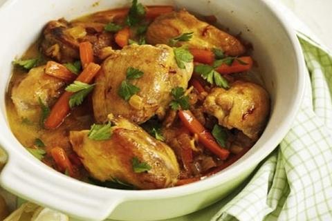 Готовое блюдо — Тажин с курицей