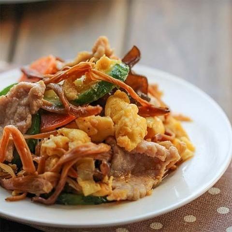 Готовое блюдо — Свинина МуШу