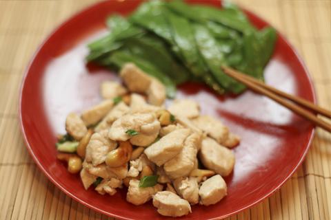 Готовое блюдо — Жареная курица с кешью