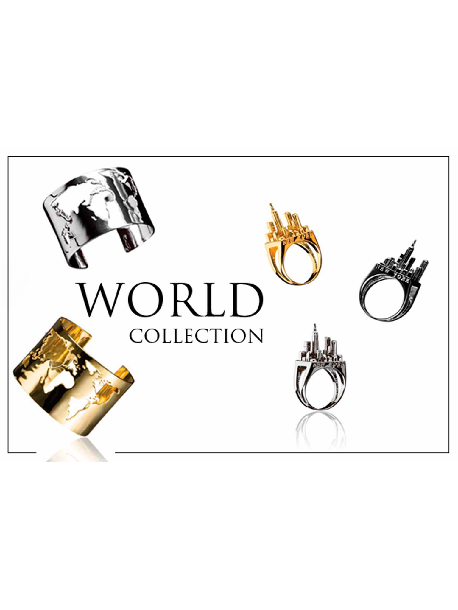 Путешествия украшений  World Collection oт Artelier MX по всей планете