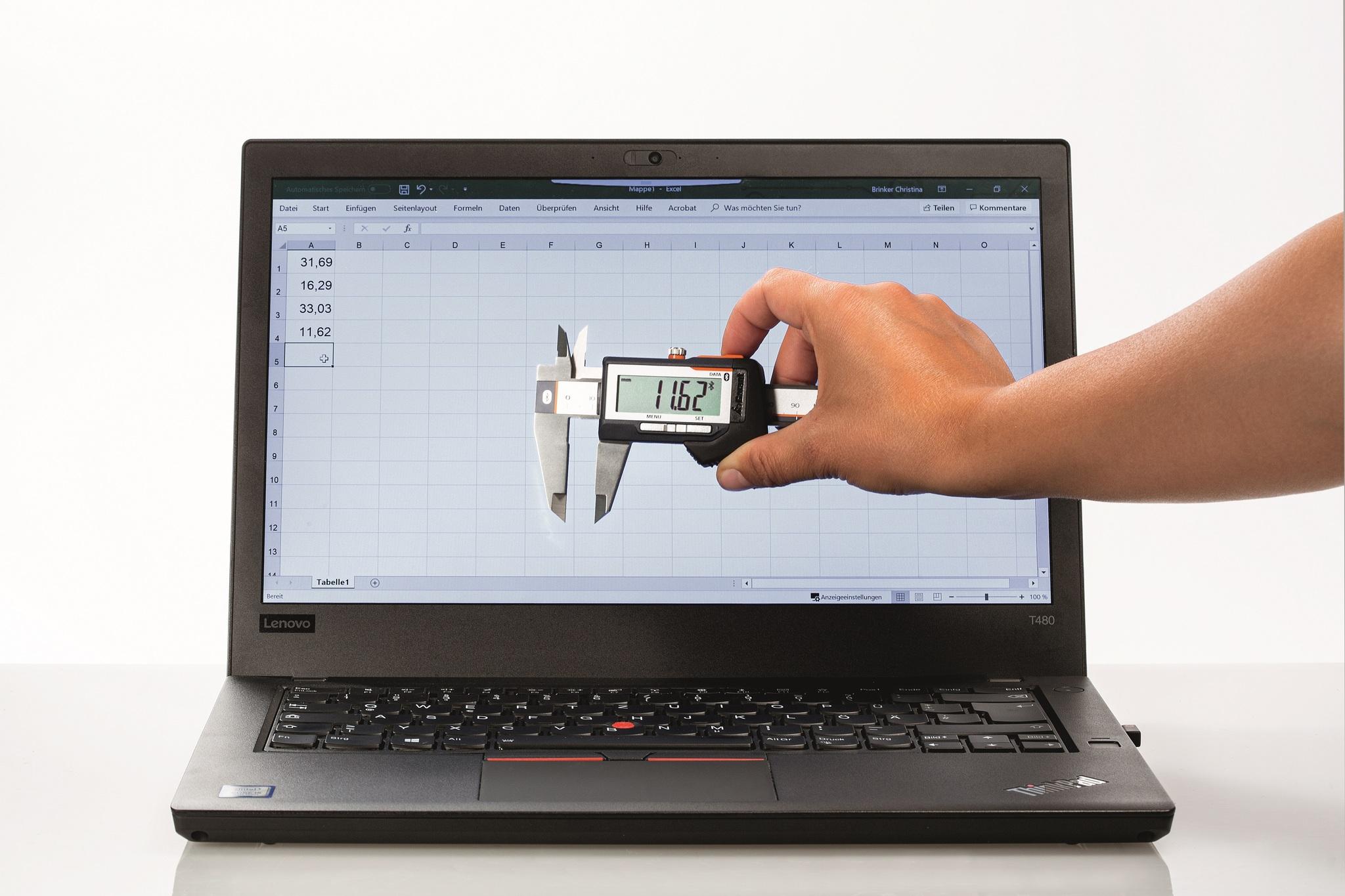 Штангенциркуль с цифровым отсчетным устройством GARANT HCT делает управление качеством мобильным