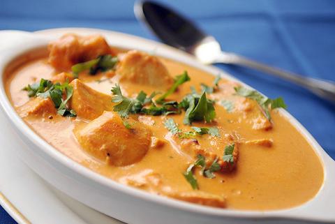 Готовое блюдо — Баттер чикен (Murg Makhani)