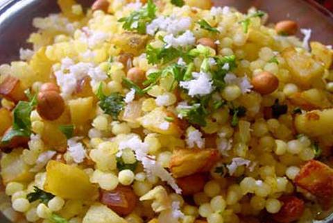 Готовое блюдо — Сабудана кичди