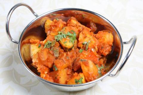 Готовое блюдо — Картофель по-бомбейски (бомбей алу)