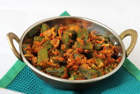 Готовое блюдо — Бхажи из бамии