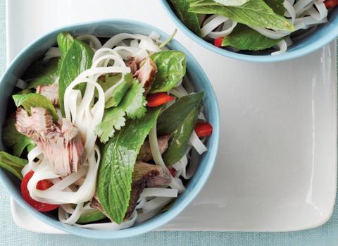 Готовое блюдо — Экзотический салат из говядины