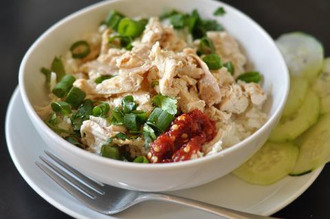 Готовое блюдо — Курица по-хайнаньски