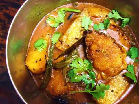 Готовое блюдо — Бенгальское рыбное карри