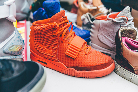 Nike Air Yeezy 2 «Red October»