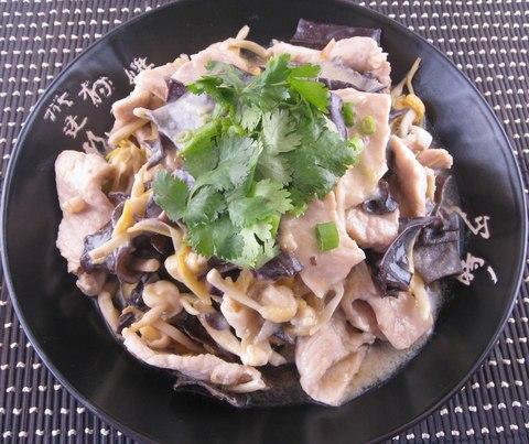 Готовое блюдо — Свинина по-китайски с грибами