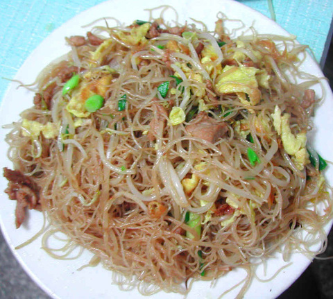 Готовое блюдо — Жареная лапша по-тайваньски