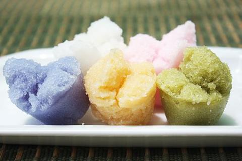 Готовое блюдо — Тайские рисовые булочки