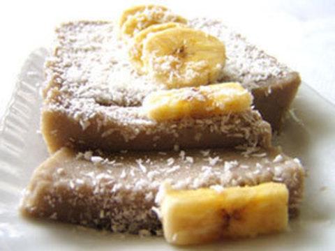 Готовое блюдо — Тайские бананово-кокосовые пирожки