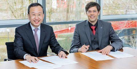 Webasto и Samsung SDI подписывают «Соглашение о намерениях»