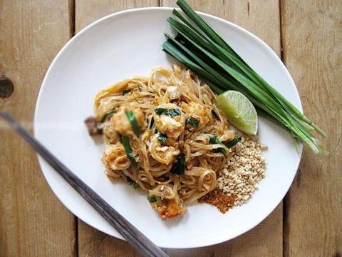 Готовое блюдо — Тайская лапша