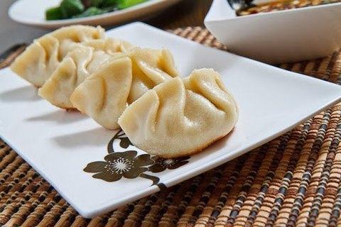 Готовое блюдо — Китайские пельмени по-сычуаньски