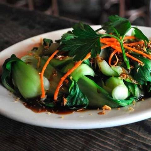 Готовое блюдо — Бок чой по-тайски