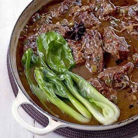 Готовое блюдо — Говядина по-китайски в пряном соусе