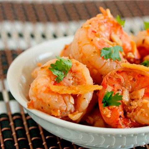 Готовое блюдо — Закуска из креветок по-вьетнамски