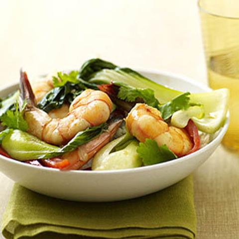 Готовое блюдо — Креветки по-китайски