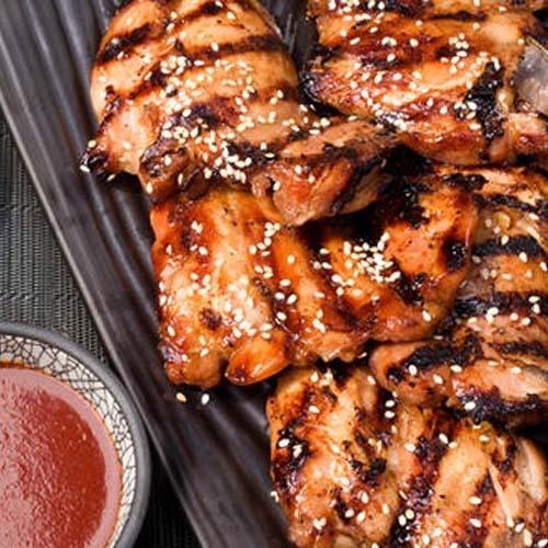 Куриные грудки-гриль в перечном соусе