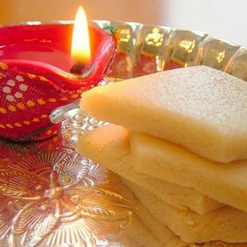 Готовое блюдо — Индийские сладости из кешью