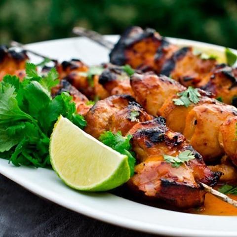 Готовое блюдо — Шашлык из курицы в оригинальном маринаде