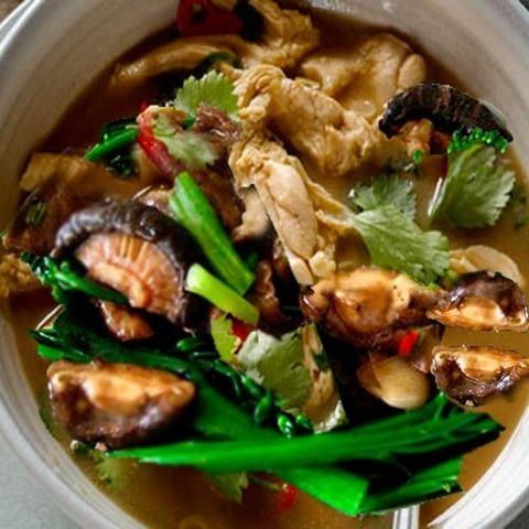 Готовое блюдо — Кисло-сладкая курица по-тайски