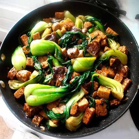 Готовое блюдо — Курица в устричном соусе