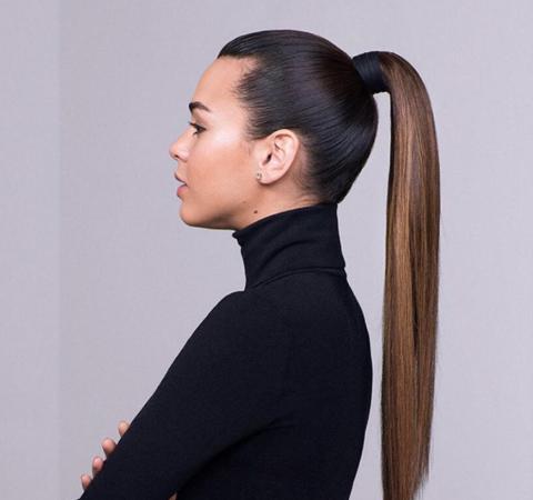 А вы знали что такая простая причёска как «конский хвост» имеет способность омолаживать ?