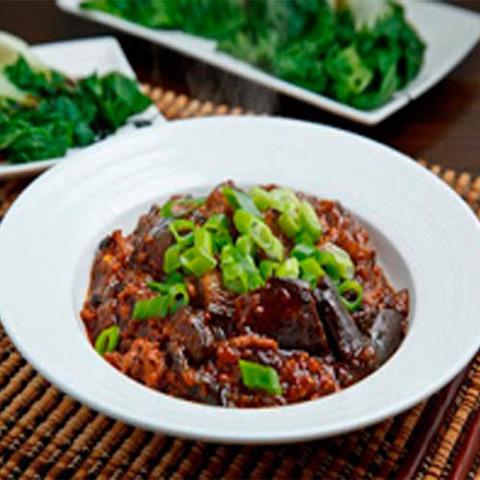 Готовое блюдо — Баклажаны Ма-по
