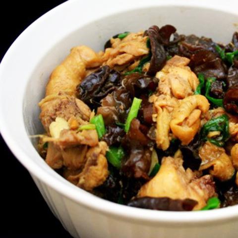 Готовое блюдо — Курица с китайскими грибами