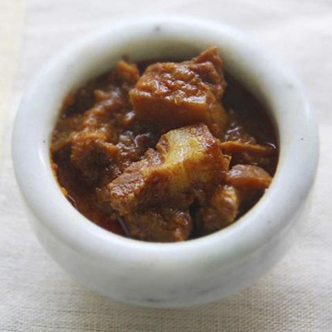 Готовое блюдо — Свинина по-бангалорски