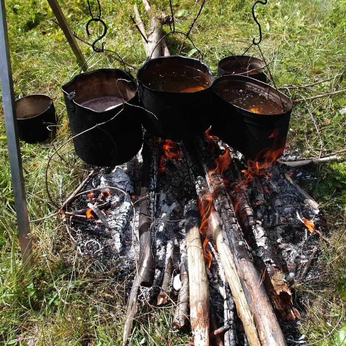 Рецепты от нашего походного шеф-повара