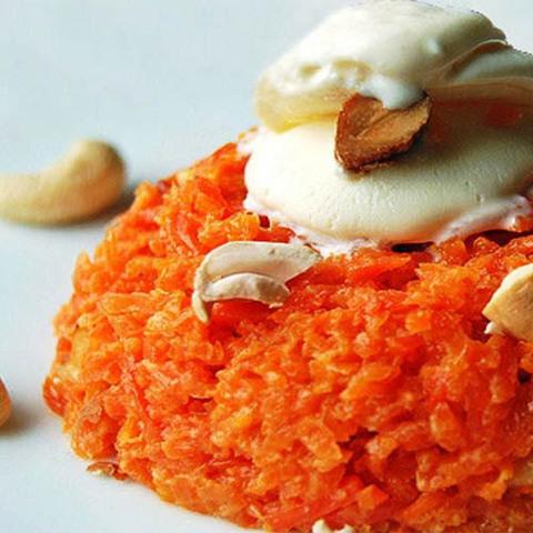 Готовое блюдо — Индийская морковная халва