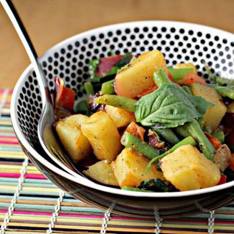 Готовое блюдо — Вегетарианское желтое карри
