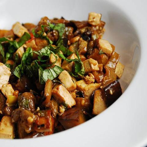 Готовое блюдо — Баклажаны по-хунаньски