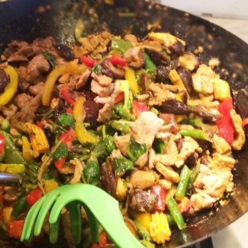 Свинина по-деревенски (тайский рецепт)