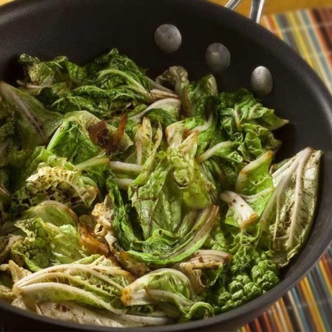Готовое блюдо — Китайская капуста в кисло-сладком соусе