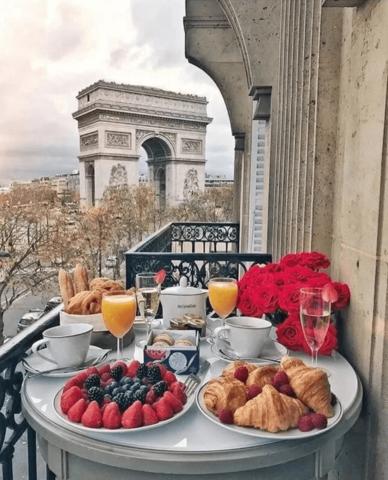 Завтрак во Франции, не выходя из дома
