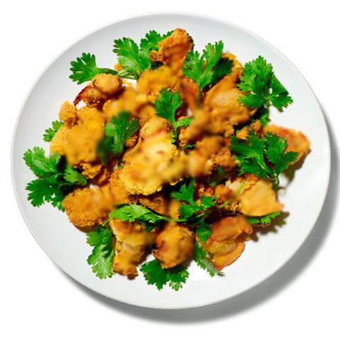 Готовое блюдо — Морепродукты в красном карри