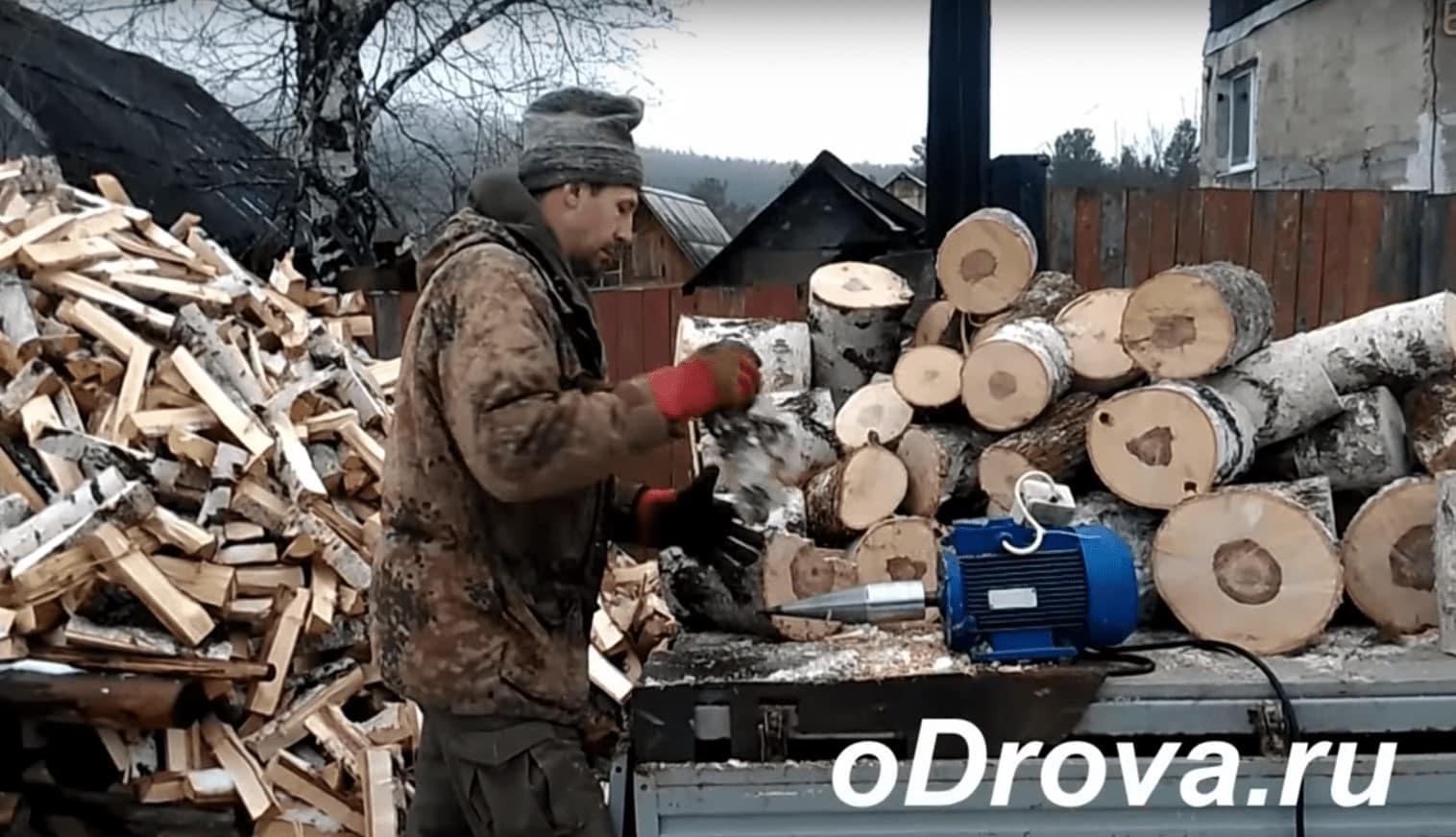 Двигатель для винтового электрического дровокола-морковки