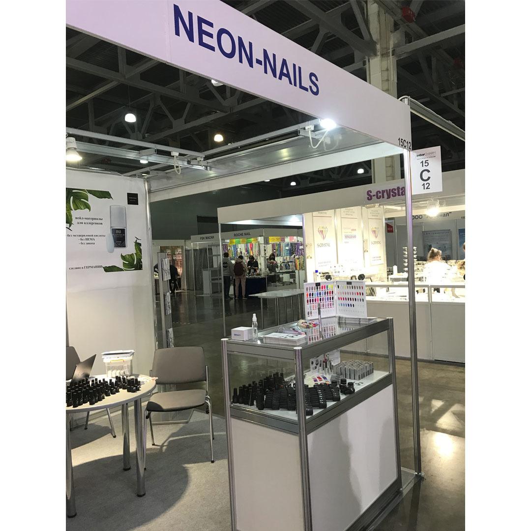 NEON-NAILS дебютировал на выставке ИнтерШарм 2020