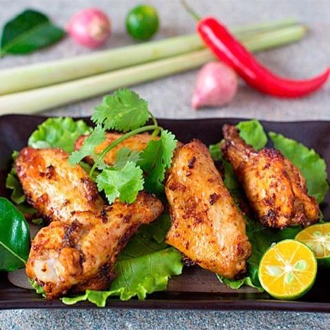 Готовое блюдо — Куриные крылышки Том ям