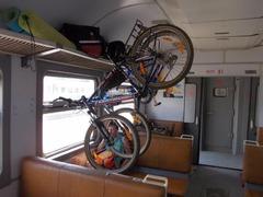 Транспортировка велосипеда в общественном транспорте